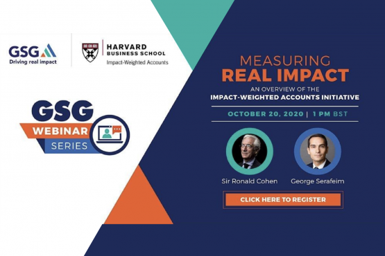 Webinar: Measuring real impact: An overview of the Impact-Weighted Accounts Initiative