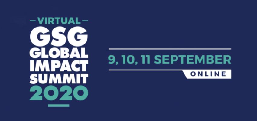 GSG GLOBAL IMPACT SUMMIT  2020