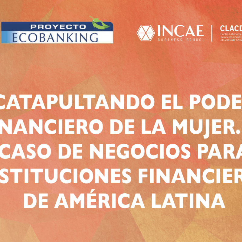 Catapultando el poder Financiero de la mujer. El Caso de negocios para Instituciones financieras de América Latina