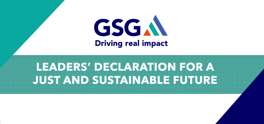 Declaración de líderes para un futuro justo y sostenible
